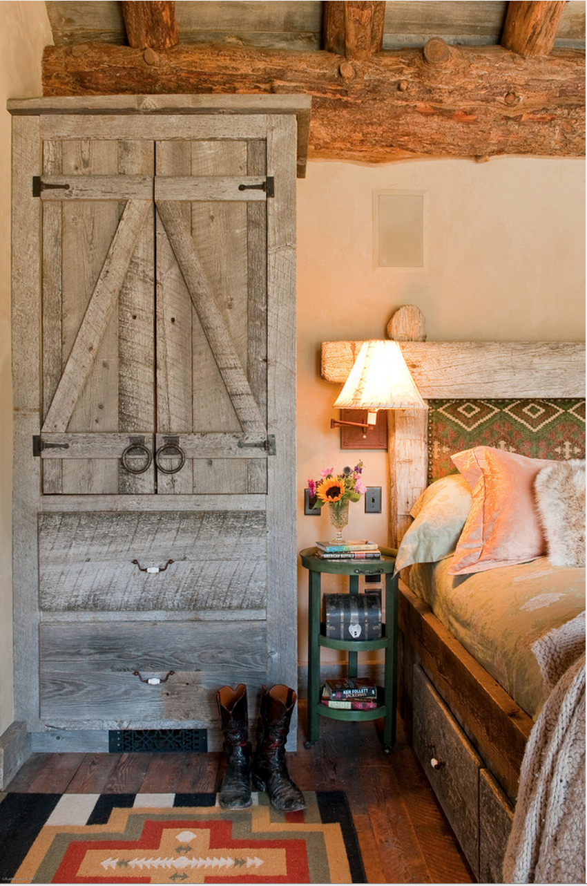 Rustic Inspired Headboards | MountainModernLife.com