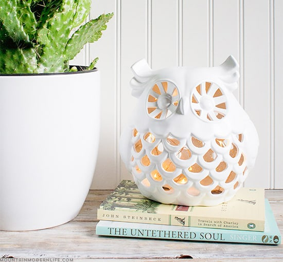 upcycled-diy-owl-nightlight-from-ceramic-decor-mountainmodernlife-com-550