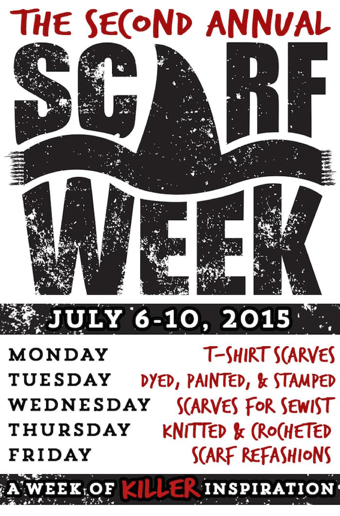 Scarf Week 2015 - Promo Flyer.