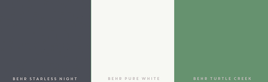 behr-paint-sample-colors-turtle-creek-pure-white-starless-night-used-for-crafts-upcycledtreasures