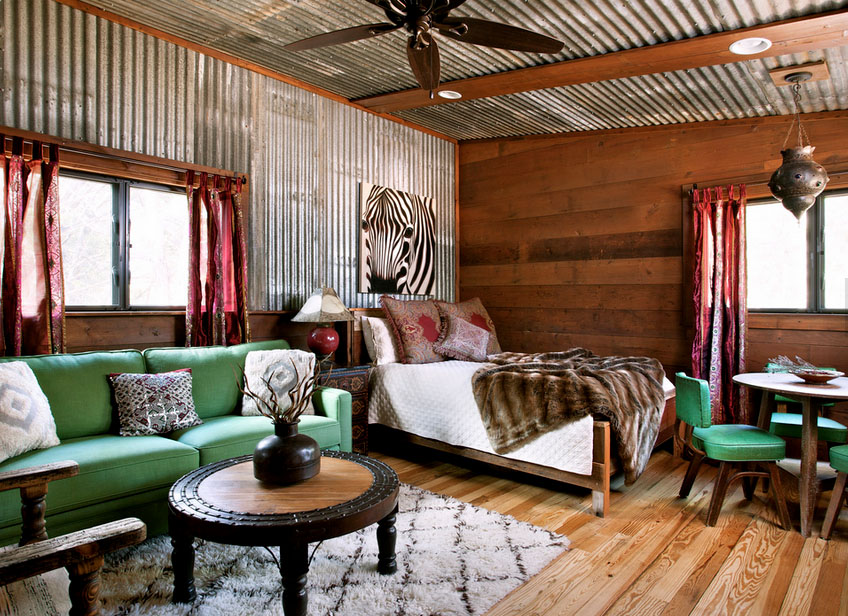Buck's Bend with Corrugated Metal | Reclaimed Space