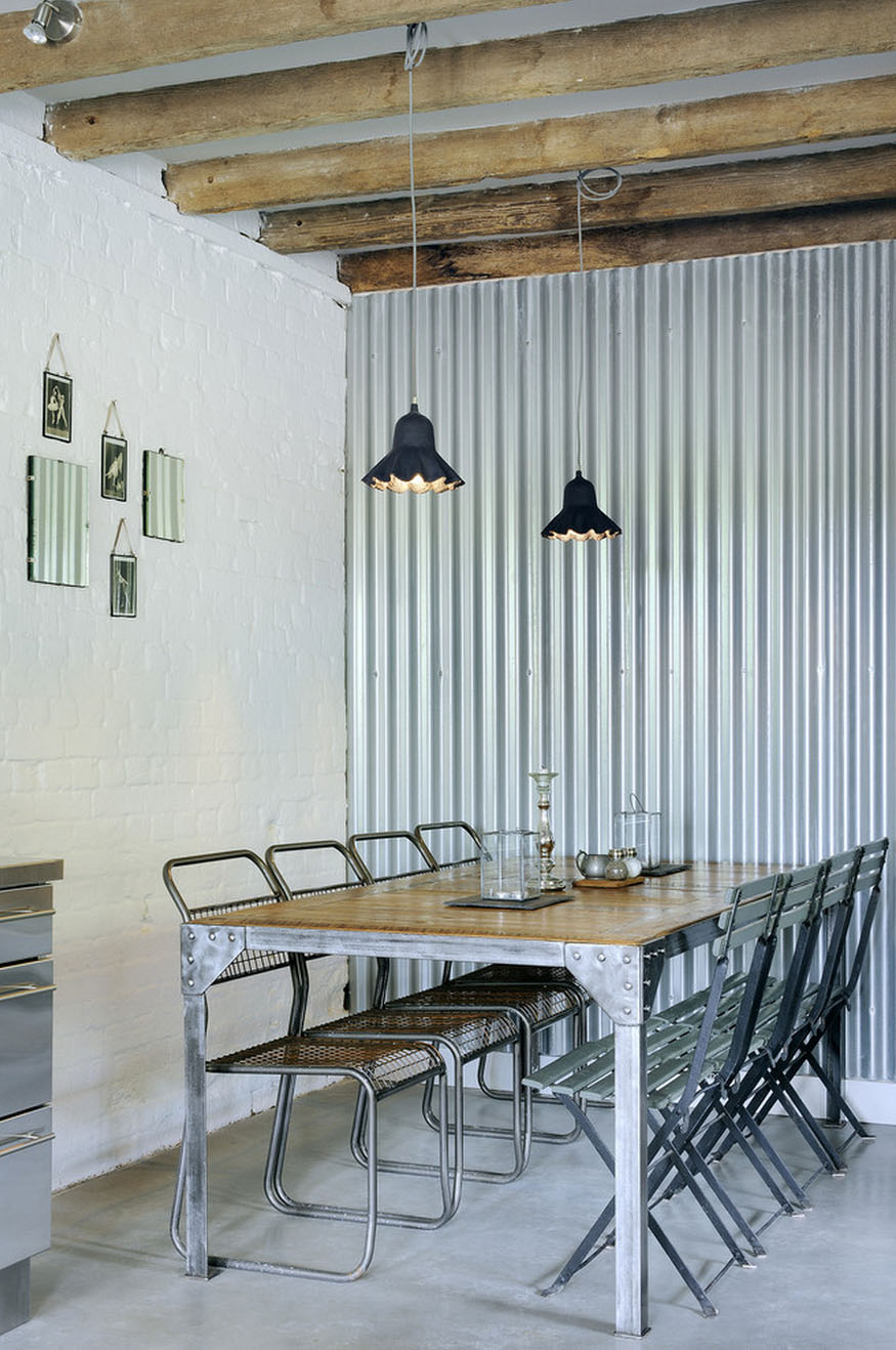 Corrugated Metal In Interior Design Mountainmodernlife Com