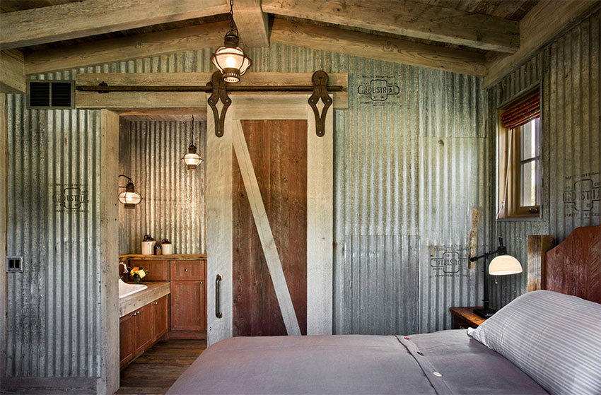 Creative Ways To Use Corrugated Metal In Interior Design on dream homes