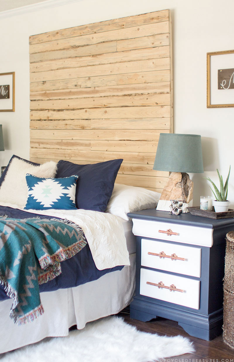 How to pick the perfect white paint for Diy rustic bedroom set