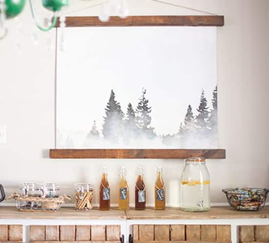 Lake Tahoe Printable | MountainModernLife.com
