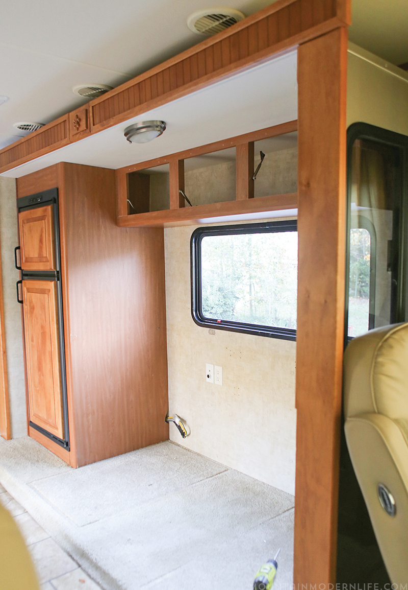 Picture of: Remove The Dinette Booth From Your Rv Mountainmodernlifecom