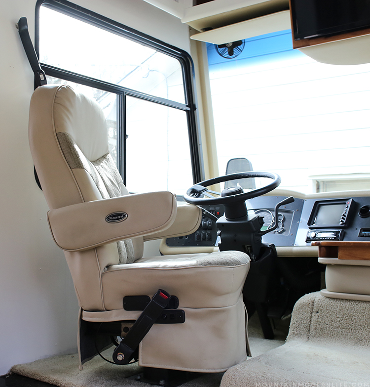 Replacement Motorhome Seats : Remove the captain chair from your rv mountainmodernlife