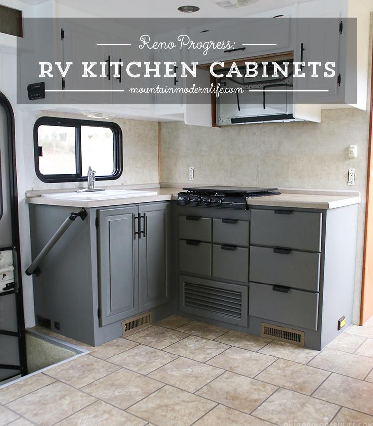Rv kitchen cabinets the progress of our rv kitchen for Lifestyle kitchen units