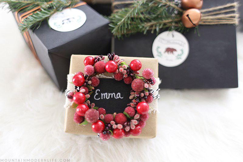 Innovative Christmas Gift Ideas: Rustic Christmas Gift Wrapping Ideas
