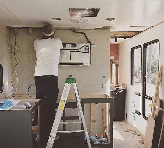 renovating-RV-after-water-damage-to-ceiling-mountainmodernlife-550x498