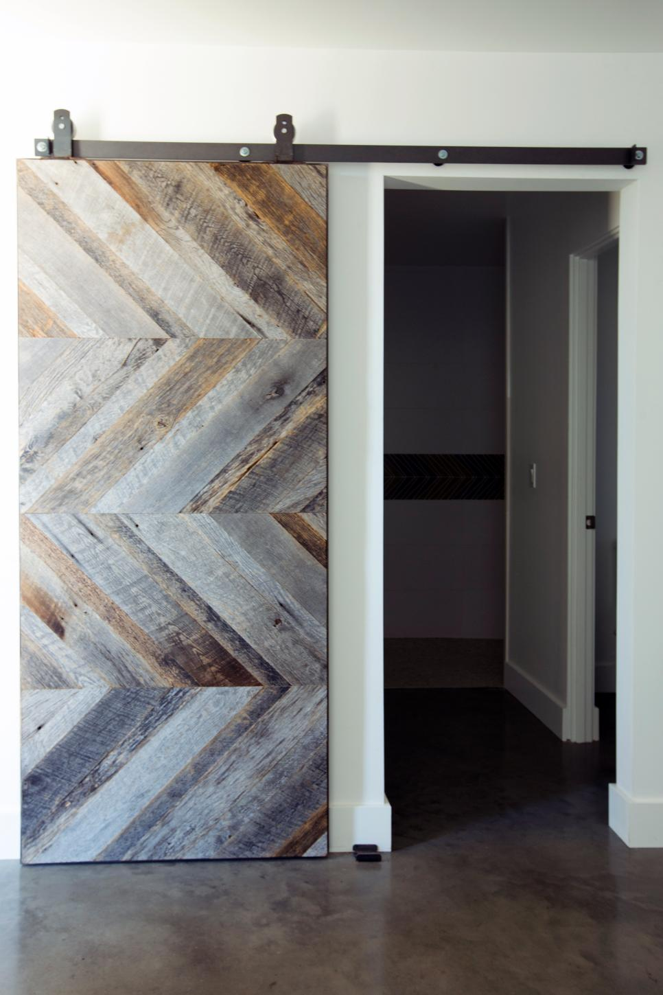 Rustic Sliding Barn Door | The Ranch Mine