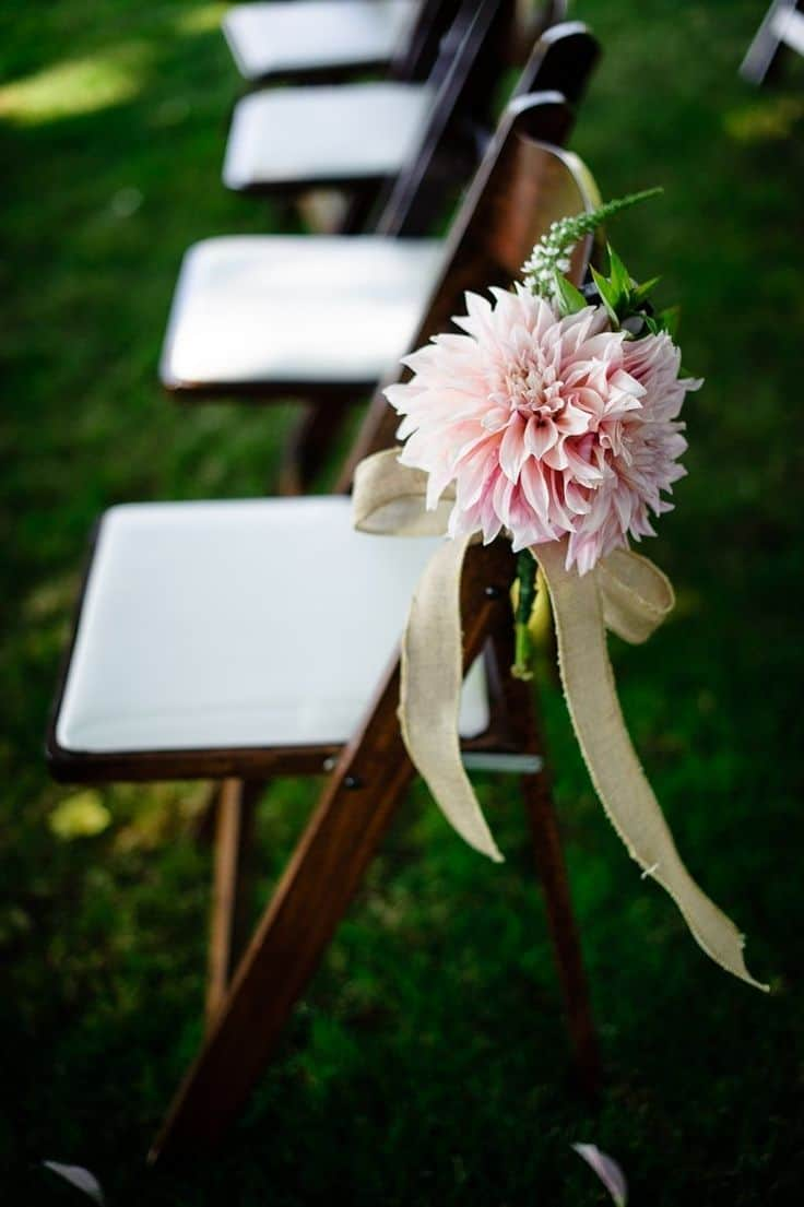 pink-dahlias-ceremony-aisle-decor-Aaron-Courter-Photography