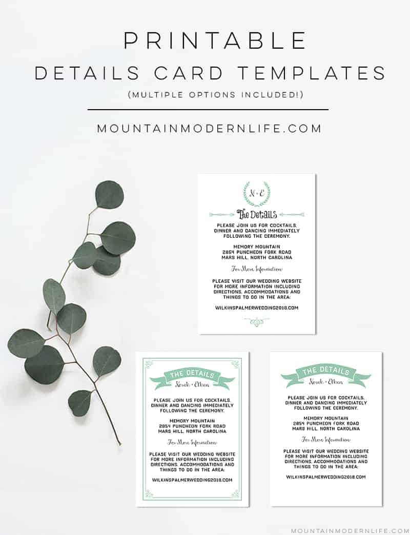 printable-wedding-details-card-templates-mint-mountainmodernlife.com