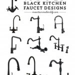 Looking for ways to add rustic or vintage-inspired style to your kitchen? Check out these 10 black kitchen faucet designs. MountainModernLife.com