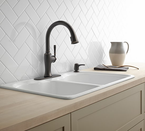 Full Size Of Kitchen Evoke Single Handle Pull Out Sprayer Kitchen Faucet In