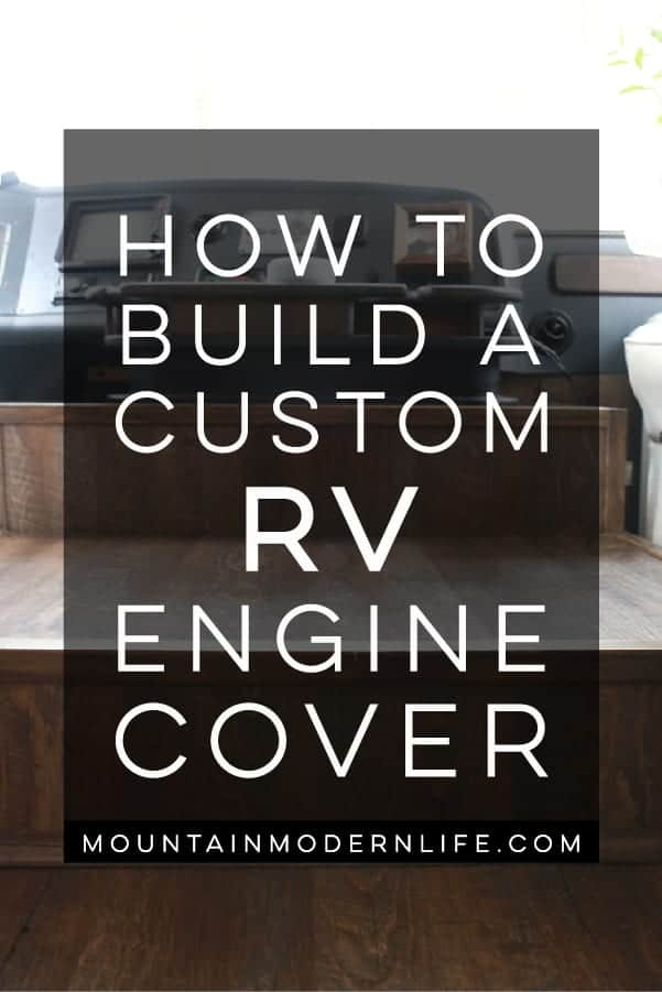 How to Build a Custom RV Engine Cover