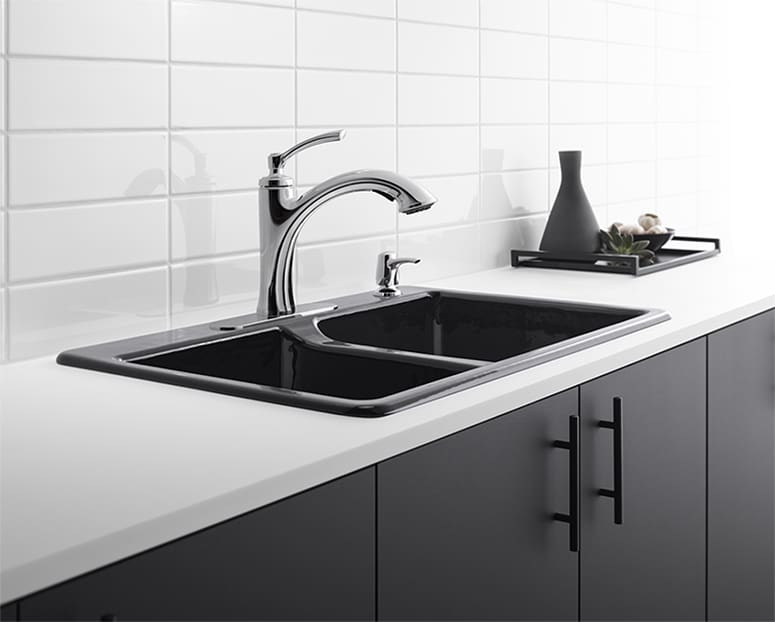 Planning a kitchen renovation or just looking for a quick and easy way to update your sink? Check out these beautiful new Kohler kitchen faucet designs!