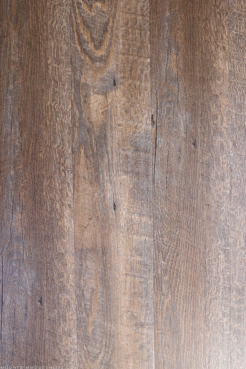 NuCore Handscraped Ashen Oak from Floor & Decor | MountainModernLife.com