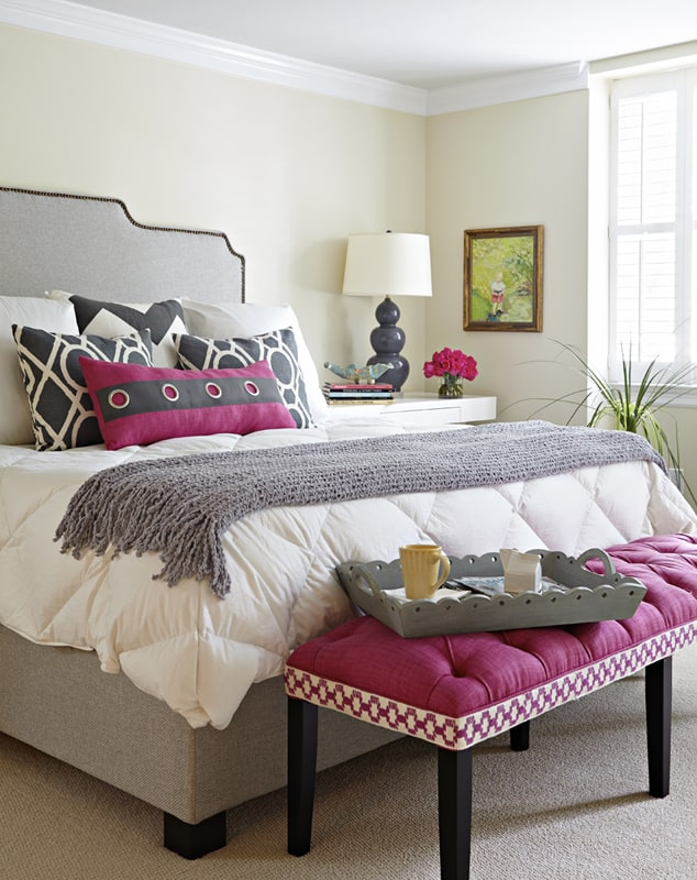 radiant orchid in bedroom pantone color of the year 2014