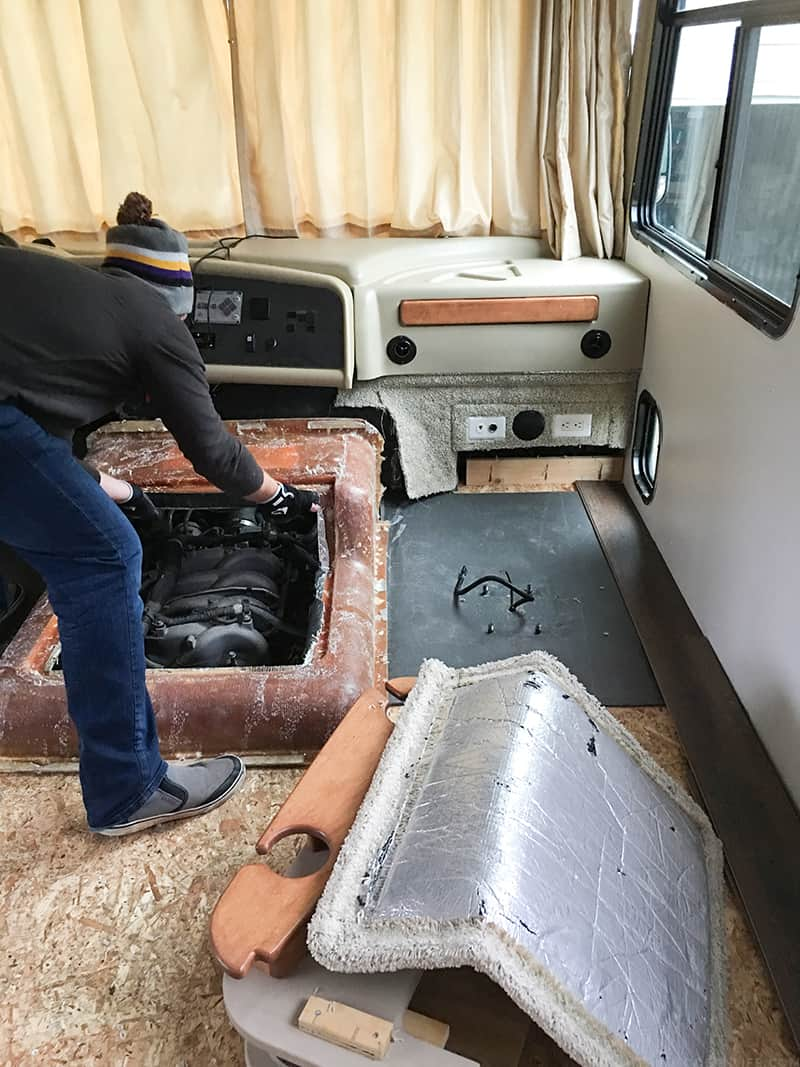 How To Install Rv Engine Insulation Mountain Modern Life