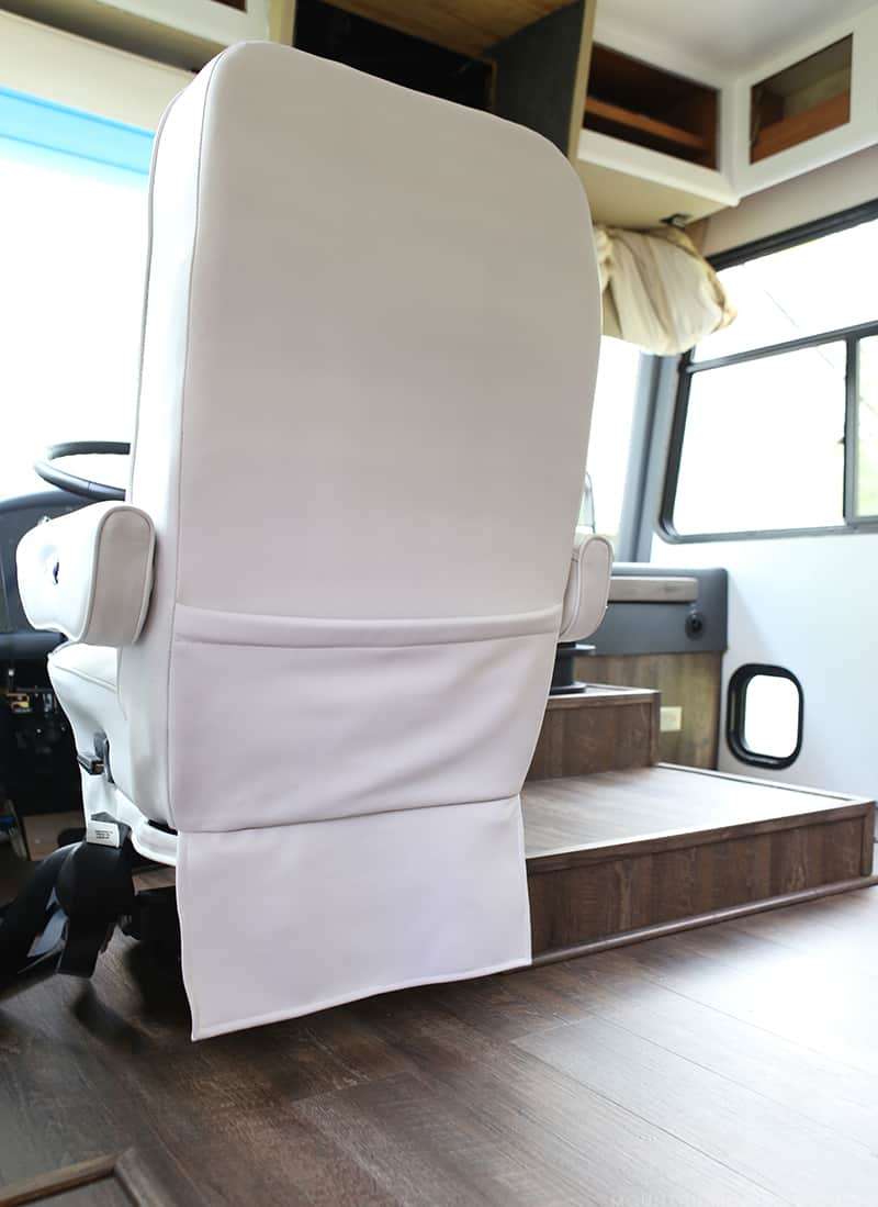 Our Painted Rv Captain S Chairs Mountain Modern Life