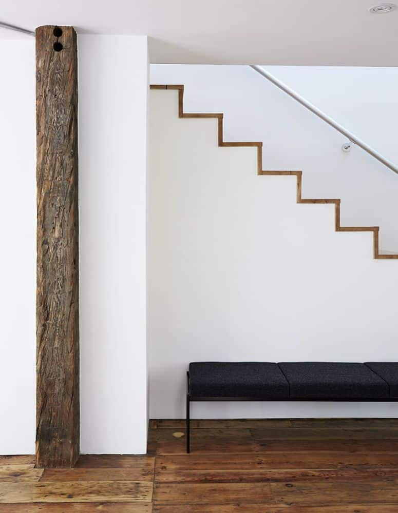 Modern Farmhouse Stairwell | Dwell - Photo by Christopher Testani