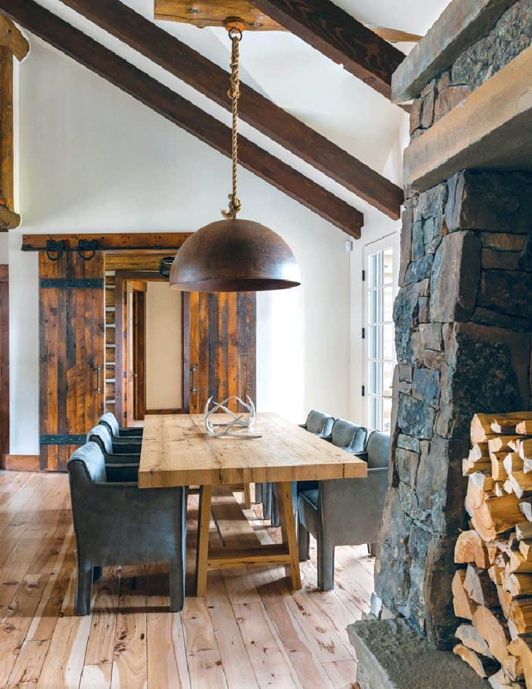 Mountain Modern Dining Room | Pearson Design Group