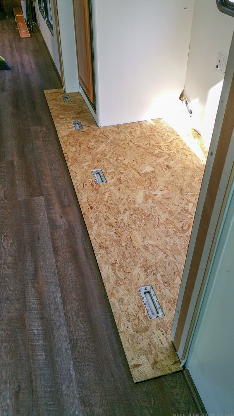 Tips To Replace The Flooring Inside A Rv Slide Out