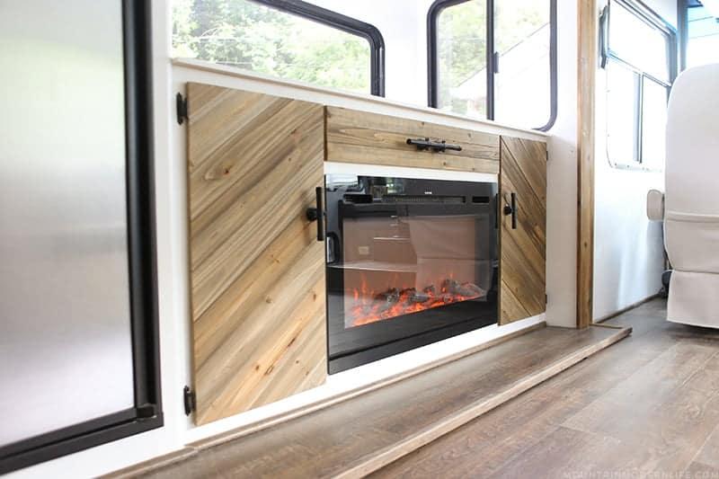 Rustic Modern RV Renovation Progress | MountainModernLife.com
