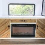Rustic Modern Cabinet