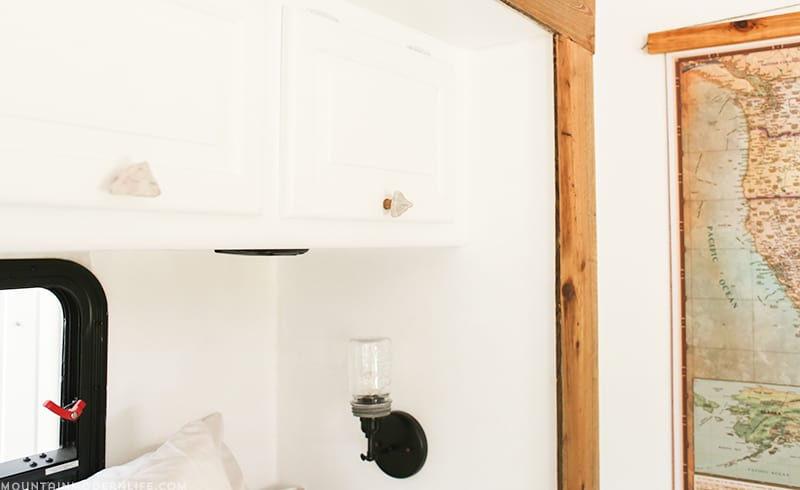 See how easy it is to add a personal touch to your home by creating these rustic modern DIY cabinet knobs! MountainModernLife.com