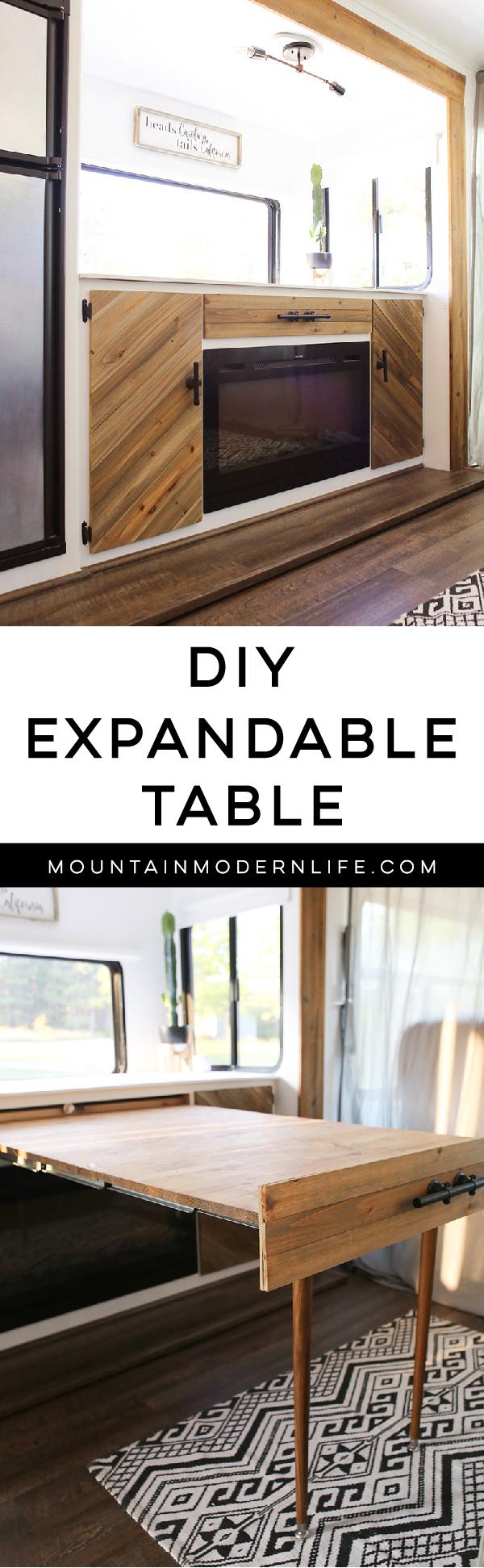 DIY RV table