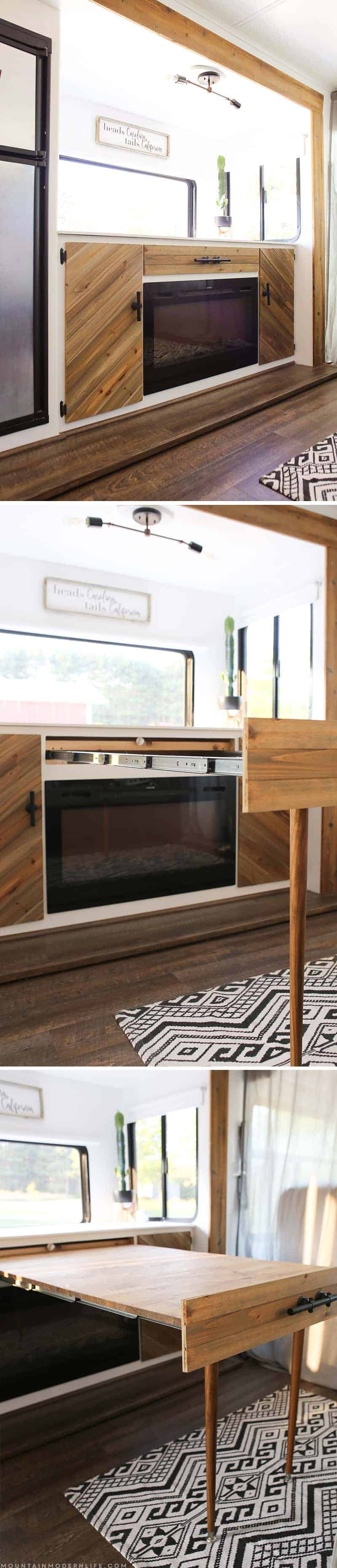 Space Saving Diy Pull Out Table Mountainmodernlife Com