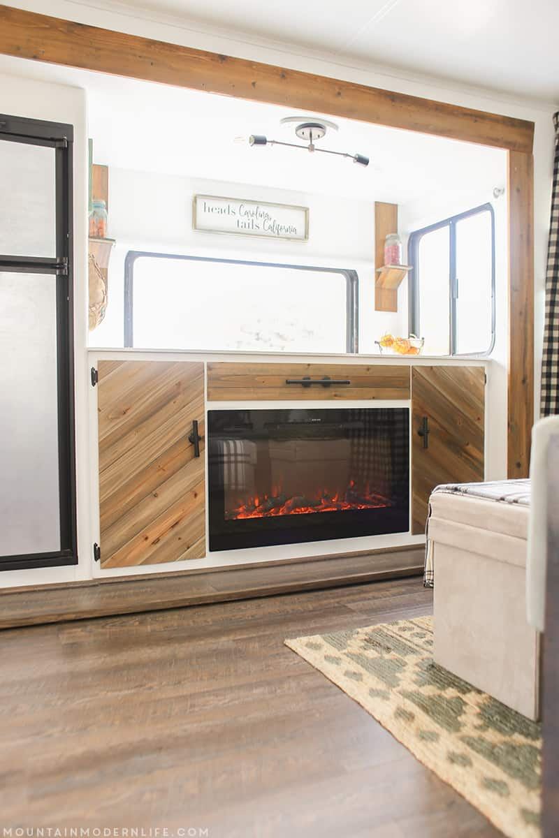 rustic-modern-media-cabinet-electric-fireplace-in-rv-mountainmodernlife-com