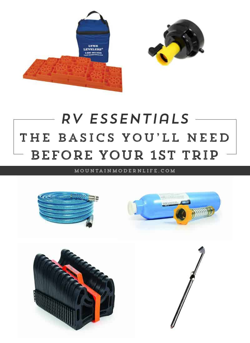 RV Essentials - What You Need For Your First Trip