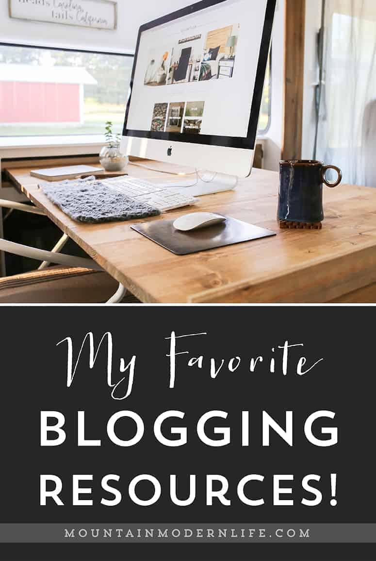 Favorite Blogging Resources | MountainModernLife.com