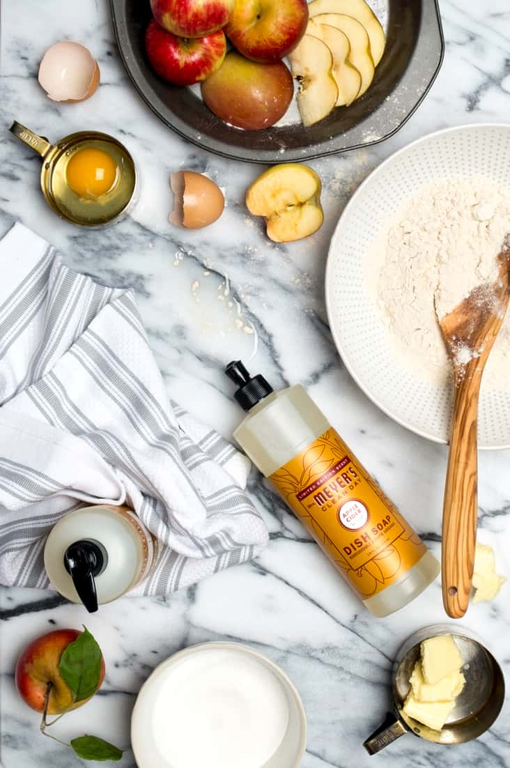"""Are you tired of trying """"natural"""" products that don't work or smell so great? Come see my secret weapon for a healthier home and take advantage of this awesome FREE Mrs. Meyers Fall Kit this week only!"""