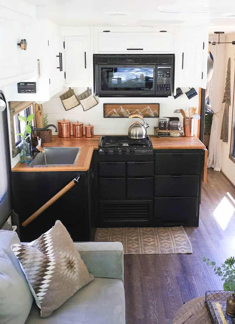 RV Kitchen Renovation | MountainModernLife com