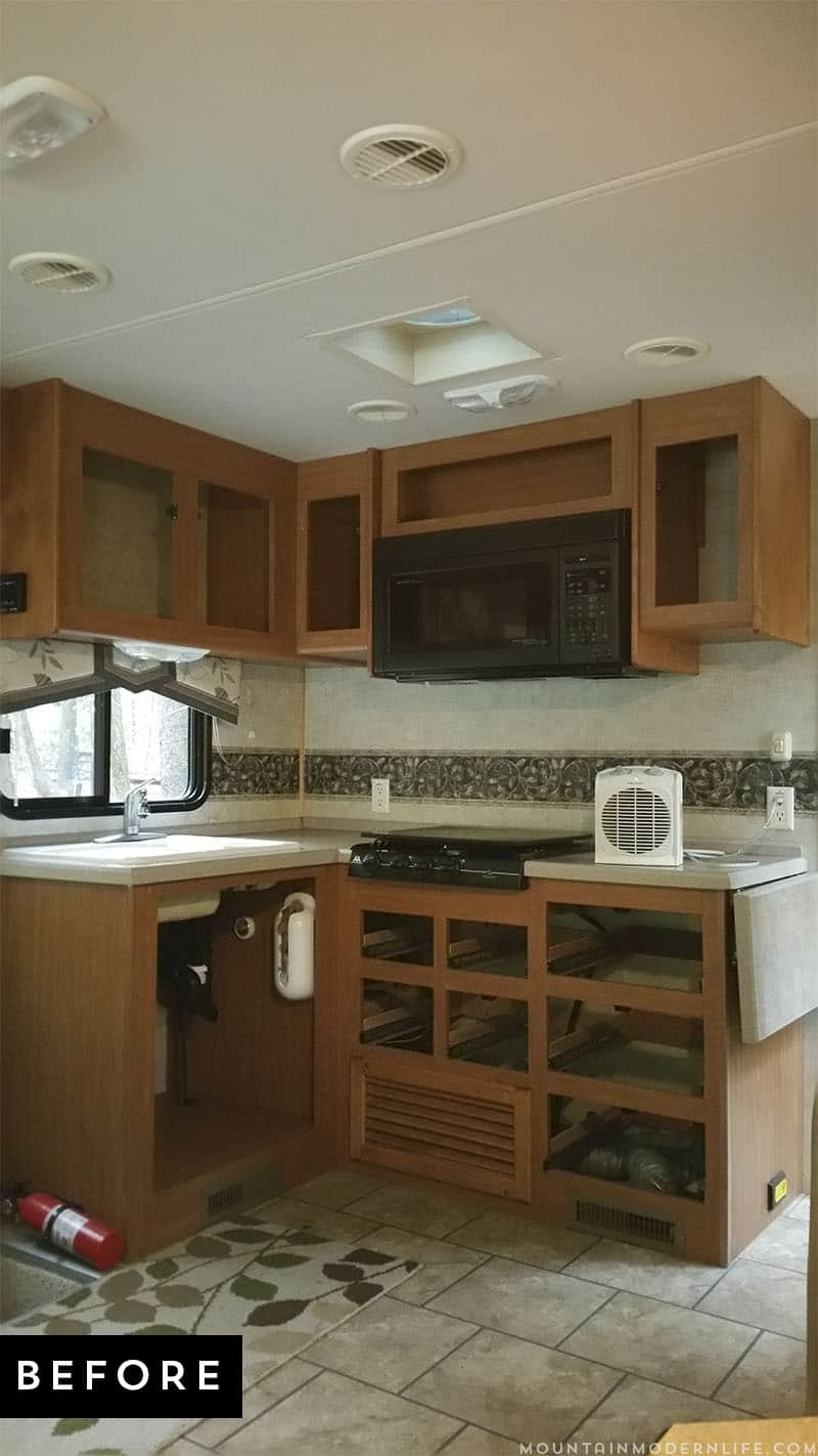 Are You Thinking About Updating The Kitchen In Your RV Or Camper? Come See  How