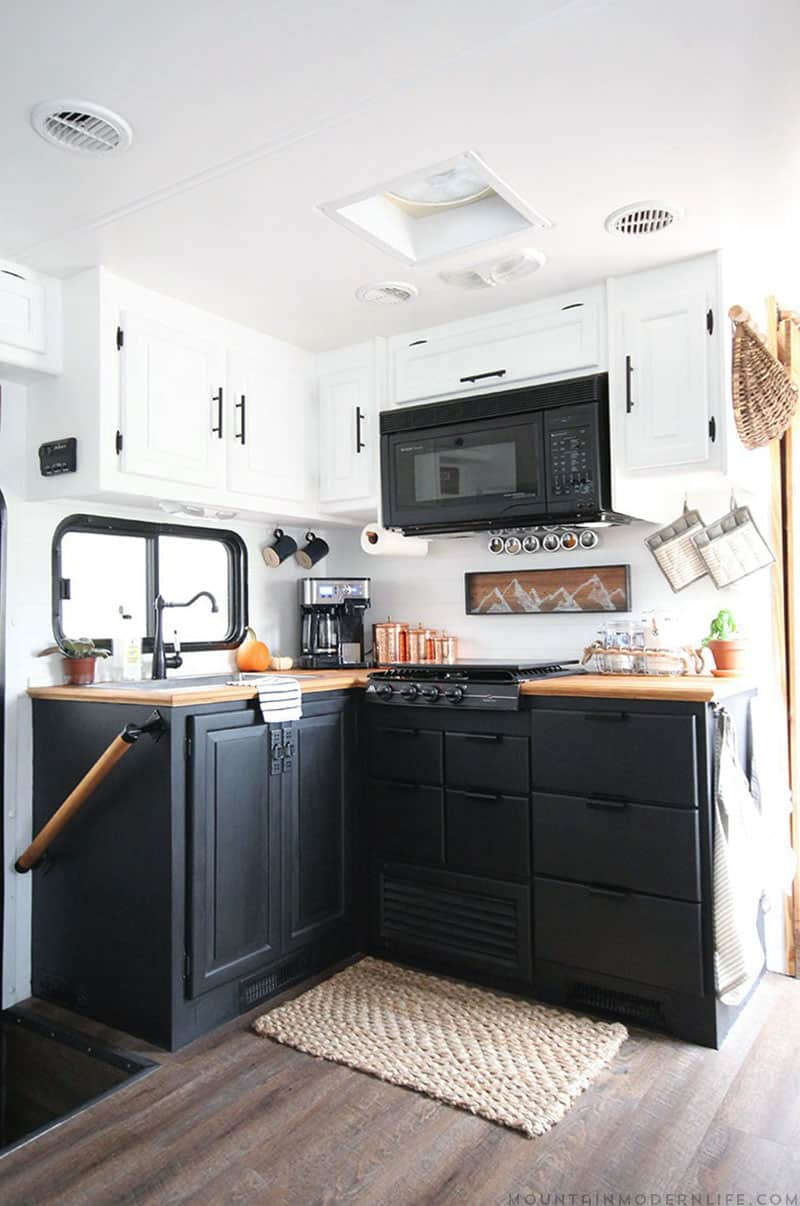 Creative  We Made A Huge Impact In Our Motorhome With Our RV Kitchen Renovation