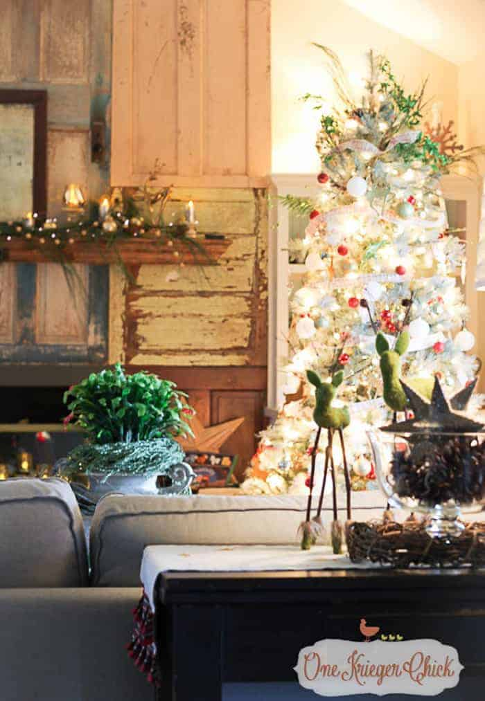 Rustic Christmas Tree| One Krieger Chick