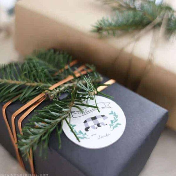 Printable Gift Tags | MountainModernLife.com