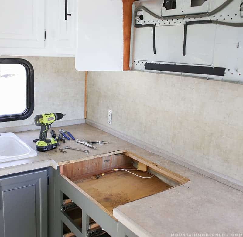 Stove Countertop Replacement : ... . Afterwards we were able to lift up on our stove top and remove it