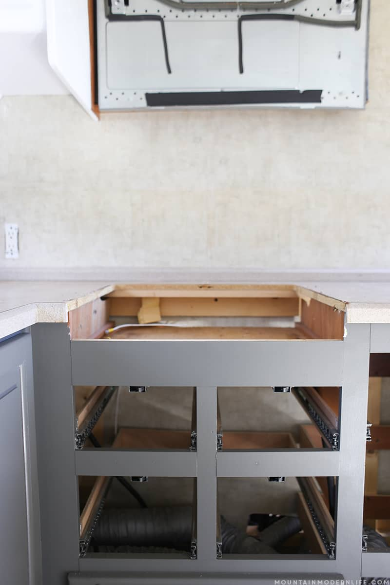 Stove Countertop Replacement : ... eliminate some of the headaches during the countertop making process
