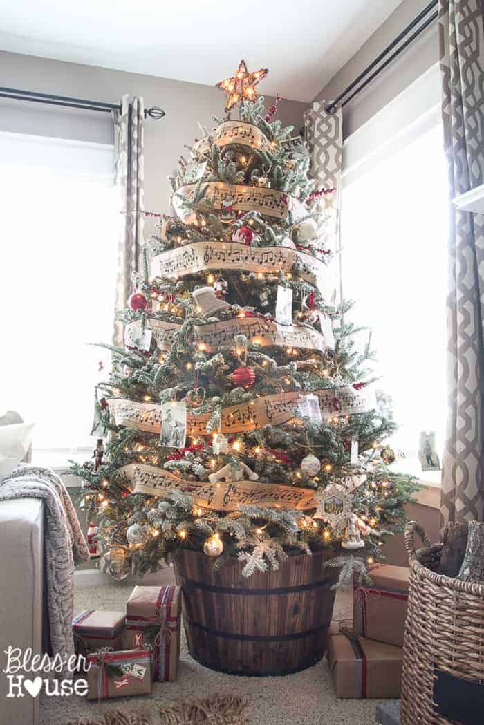 Rustic Christmas Tree | Bless'er House