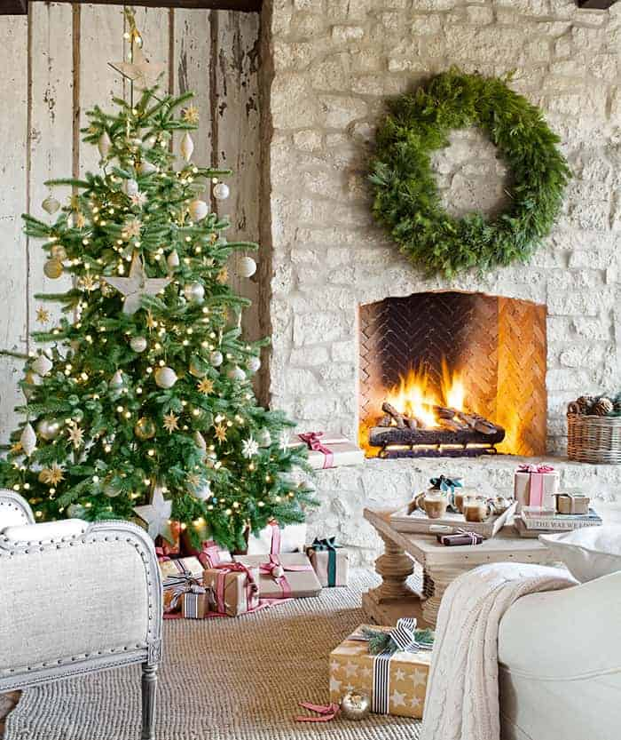 Rustic Christmas Tree | Country Living