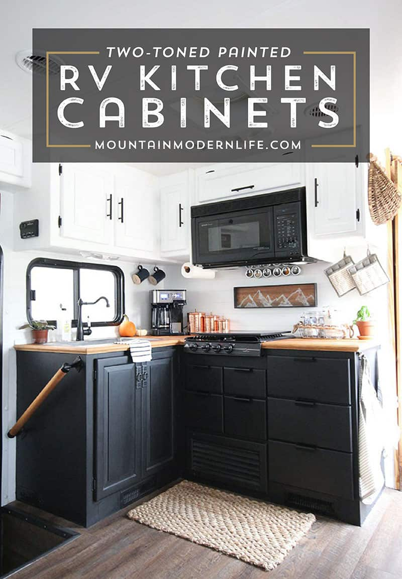 Tips For Kitchen Color Ideas: How To Paint Your RV Kitchen Cabinets (and What NOT To Do