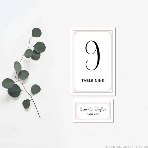 blush-pink-printable-table-number-and-place-cards-mountainmodernlife.com