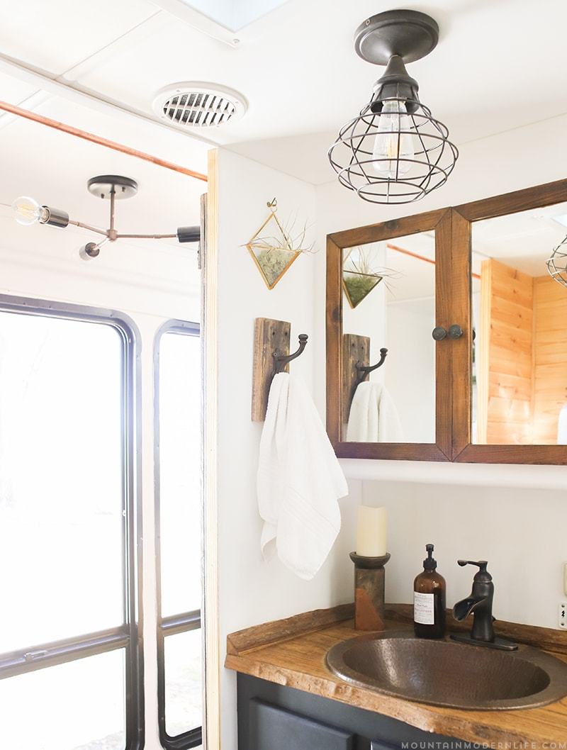 Rv Interior Wall Sconces : How to Update RV Interior Lighting MountainModernLife.com
