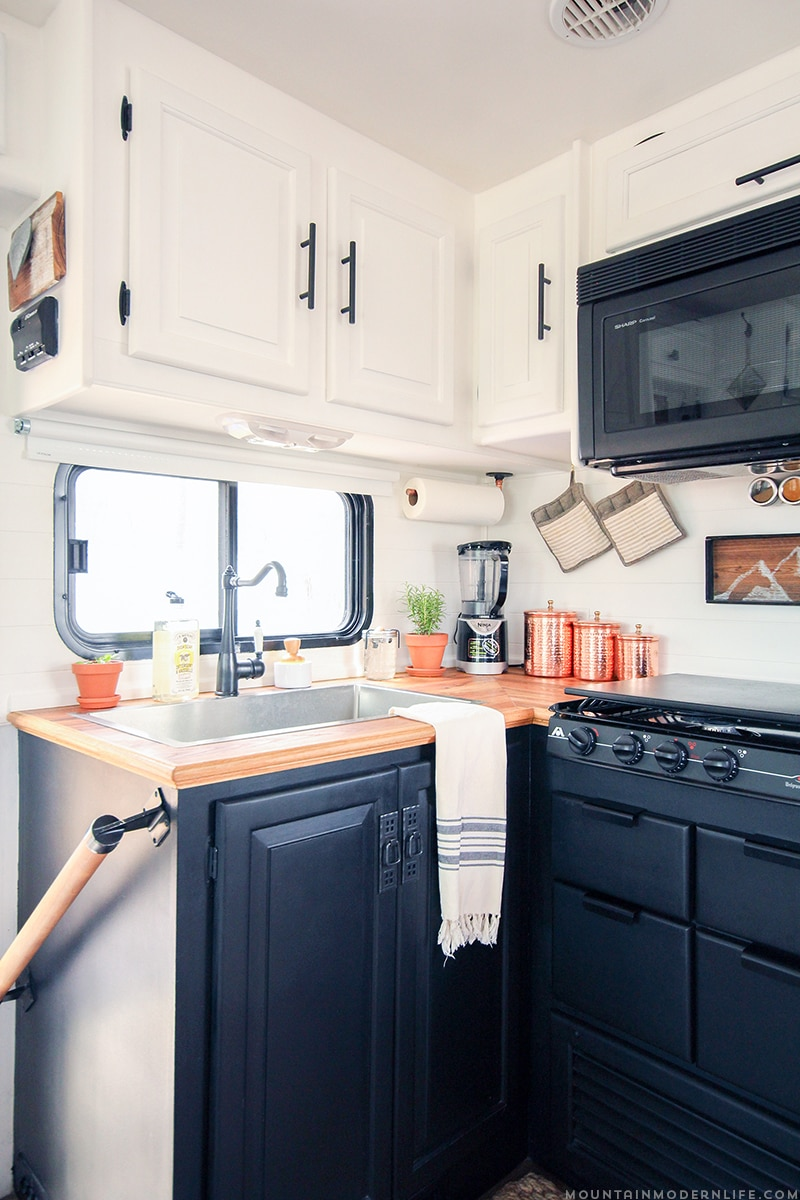 Want to replace those old light fixtures in your motorhome with updated rv interior lighting